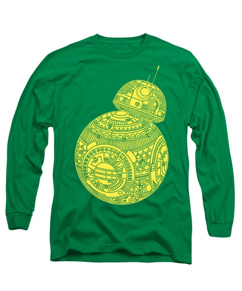 Bb8 Droid - Star Wars Art, Yellow Long Sleeve T-Shirt