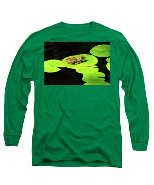 Long Sleeve T-Shirt featuring the photograph Blending In by Greg Fortier