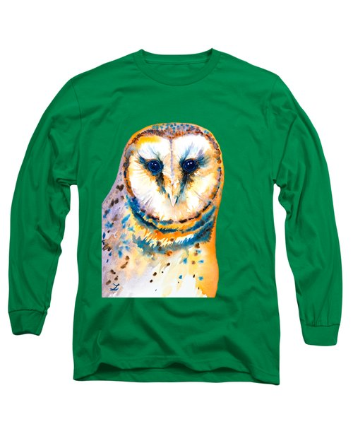Gorgeous Barn Owl Long Sleeve T-Shirt