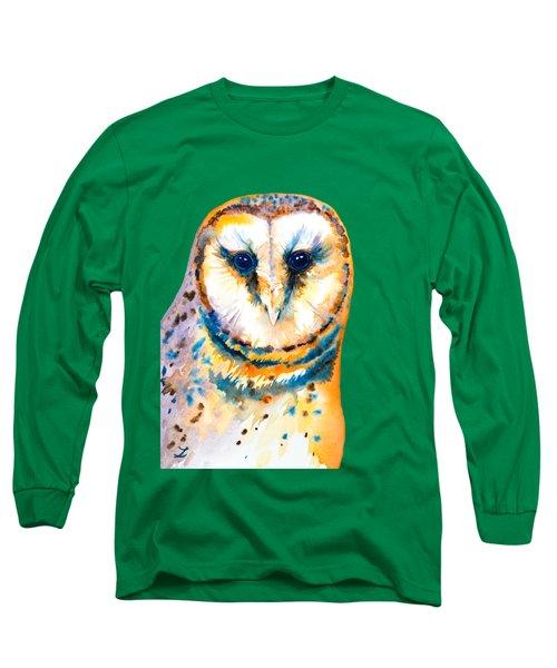 Gorgeous Barn Owl Long Sleeve T-Shirt
