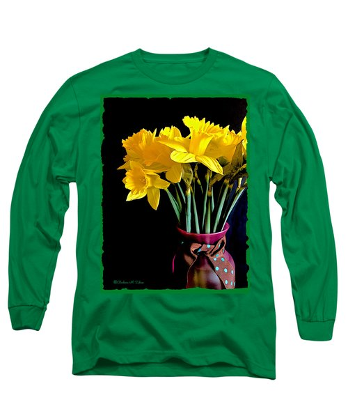 Narcissus Bouquet Long Sleeve T-Shirt