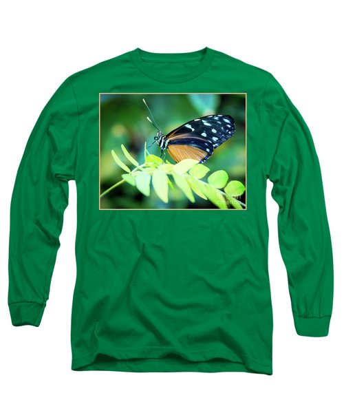Pondering Long Sleeve T-Shirt by Deborah Klubertanz