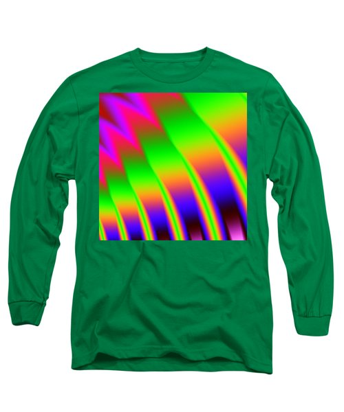 Long Sleeve T-Shirt featuring the digital art 110 In The Shade by Kevin Caudill
