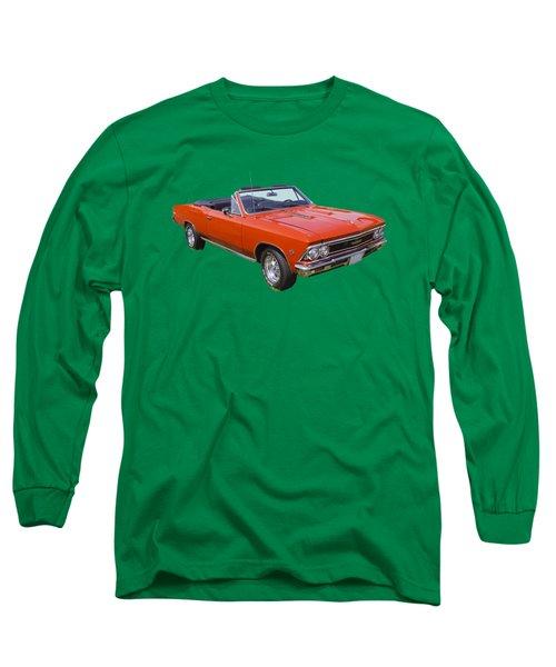 1966 Chevrolet Chevelle Convertible 283  Long Sleeve T-Shirt