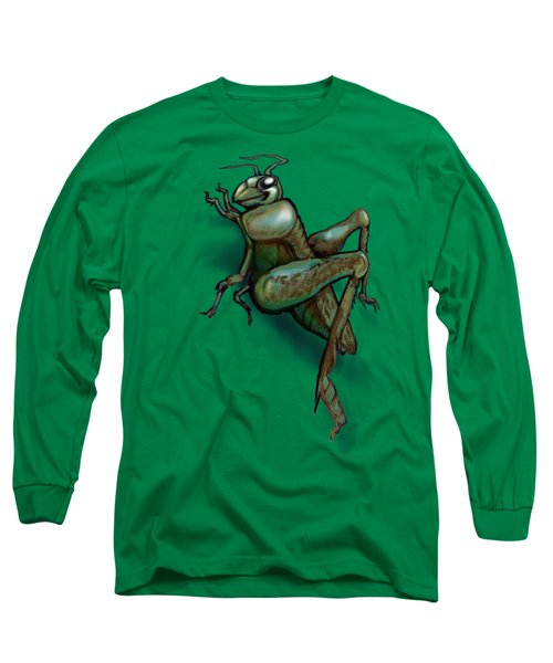 Grasshopper Long Sleeve T-Shirt by Kevin Middleton