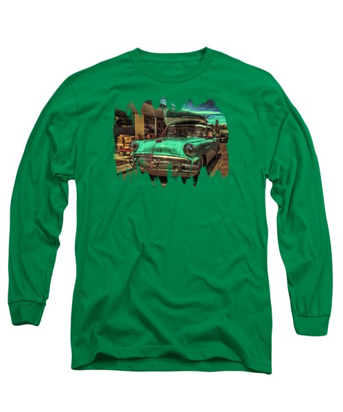 57 Buick - Just Coolin' It Long Sleeve T-Shirt