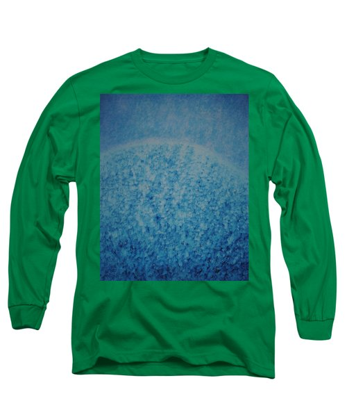 Long Sleeve T-Shirt featuring the painting Calm Mind by Kyung Hee Hogg