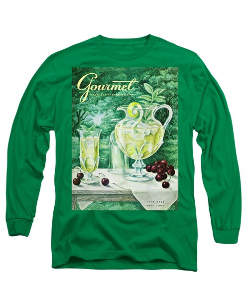 A Gourmet Cover Of Glassware Long Sleeve T-Shirt