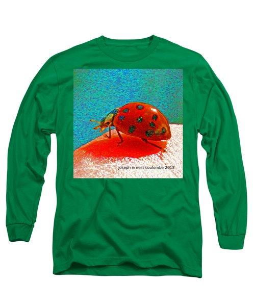 A Spring Lady Bug Long Sleeve T-Shirt