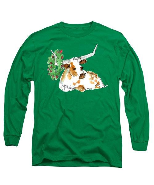 A Texas Welcome Christmas Long Sleeve T-Shirt