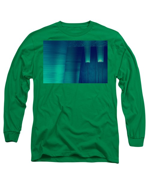 Long Sleeve T-Shirt featuring the photograph Acoustic Wall by Bobby Villapando