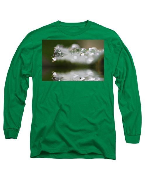 Afternoon Raindrops Long Sleeve T-Shirt by Kym Clarke