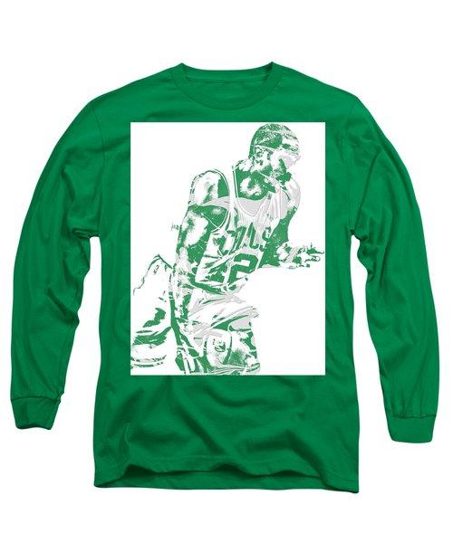 Al Horford Boston Celtics Pixel Art 5 Long Sleeve T-Shirt