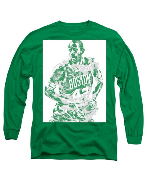 Al Horford Boston Celtics Pixel Art 6 Long Sleeve T-Shirt