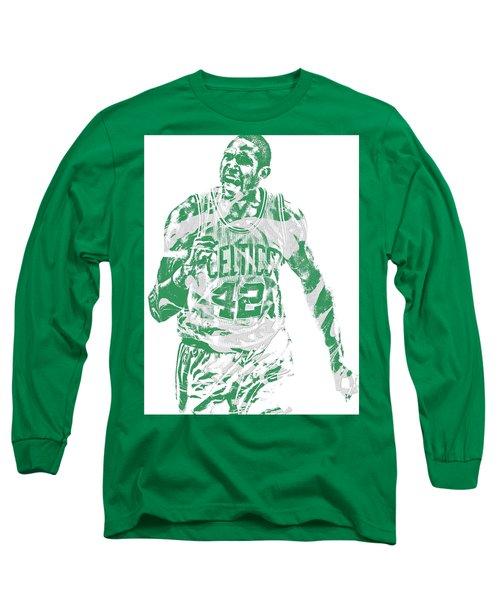 Al Horford Boston Celtics Pixel Art 7 Long Sleeve T-Shirt