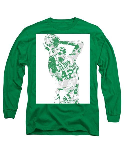 Al Horford Boston Celtics Pixel Art 8 Long Sleeve T-Shirt