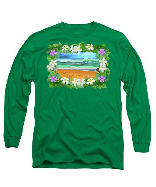 Aloha Hawaii Long Sleeve T-Shirt