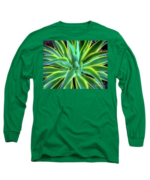 An Agave In Color  Long Sleeve T-Shirt