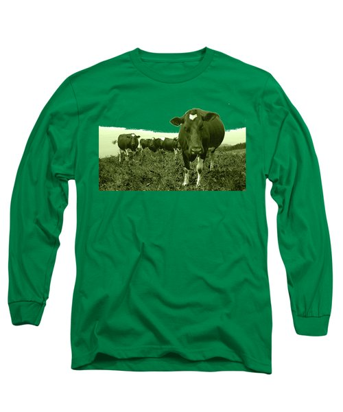 Annoyed Cow Long Sleeve T-Shirt