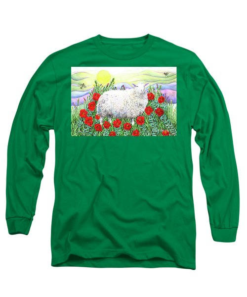 Arrival Of The Hummingbirds Long Sleeve T-Shirt by Lise Winne