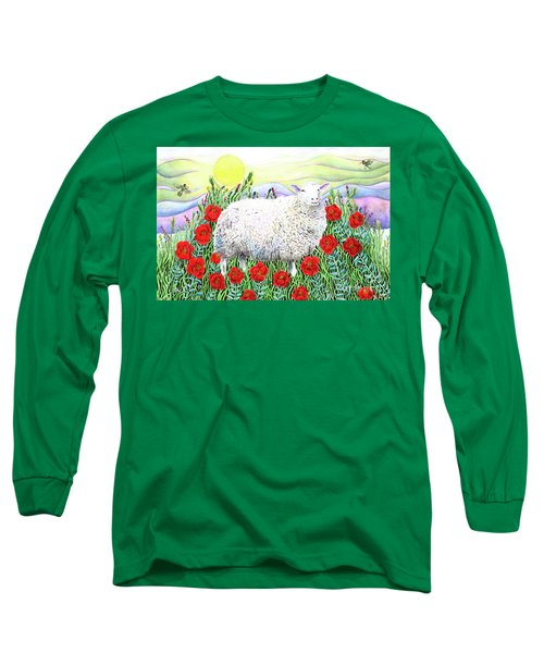 Arrival Of The Hummingbirds Long Sleeve T-Shirt