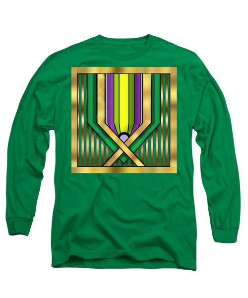 Art Deco 14 A Transparent Long Sleeve T-Shirt by Chuck Staley