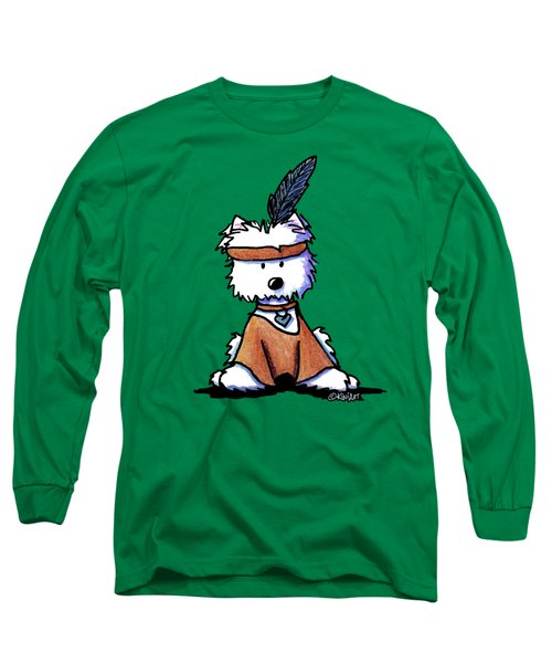 Westie Pocahontas Long Sleeve T-Shirt