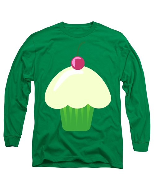 Cherry Cupcake  Long Sleeve T-Shirt