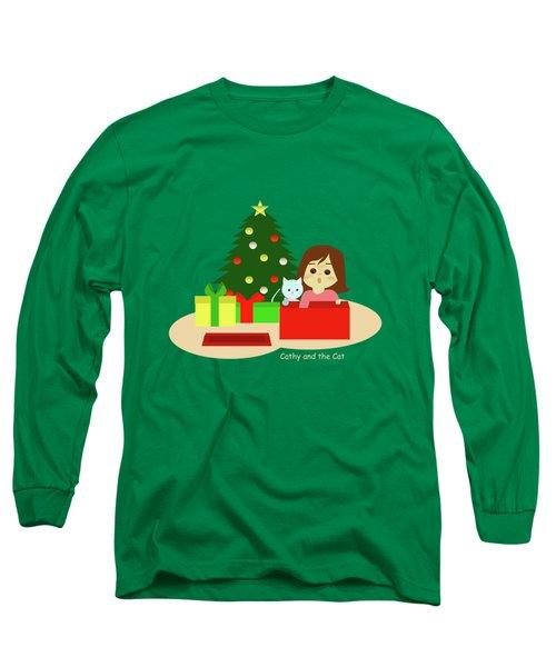 Christmas #1 No Text Long Sleeve T-Shirt