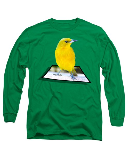 Two Worlds Long Sleeve T-Shirt by Shane Bechler