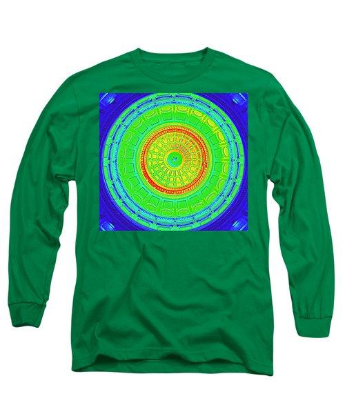 Austin Dome - B Long Sleeve T-Shirt by Karen J Shine