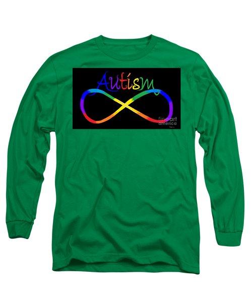 Autism Infinity Spectrum Long Sleeve T-Shirt