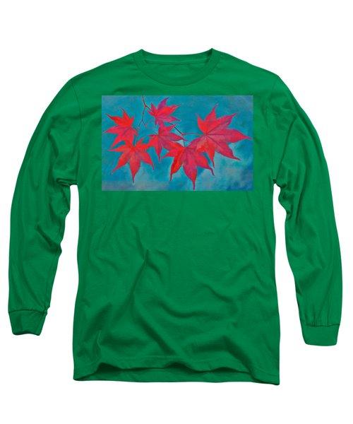 Autumn Crimson Long Sleeve T-Shirt