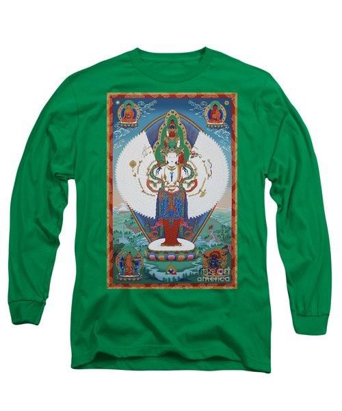 Avalokiteshvara Lord Of Compassion Long Sleeve T-Shirt