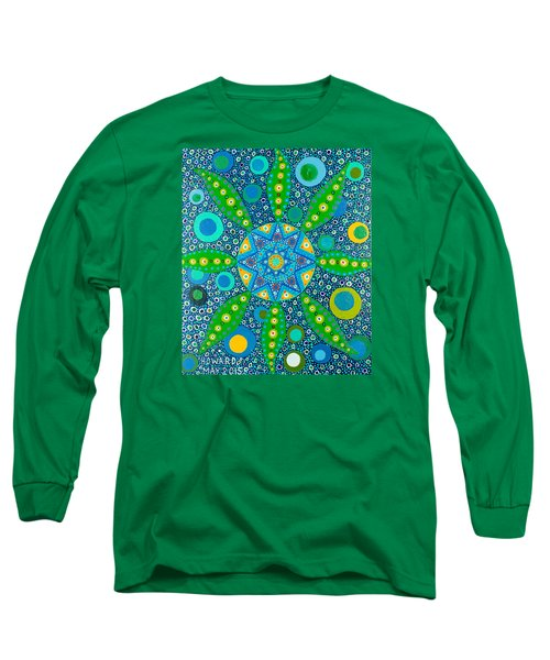 Ayahuasca Vision - Inside The Plant Cell  May 2015 Long Sleeve T-Shirt