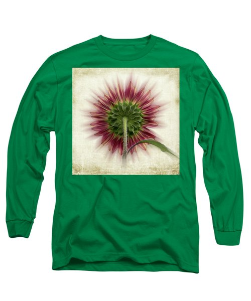 Behind The Sunflower Long Sleeve T-Shirt