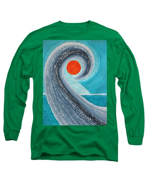 Big Kahuna Original Painting Long Sleeve T-Shirt