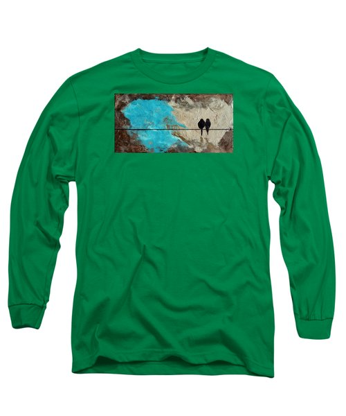 Birds On A Wire II Long Sleeve T-Shirt