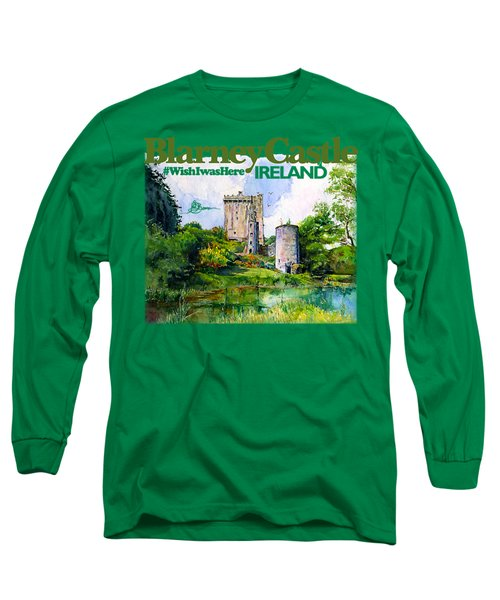 Blarney Castle Ireland Long Sleeve T-Shirt