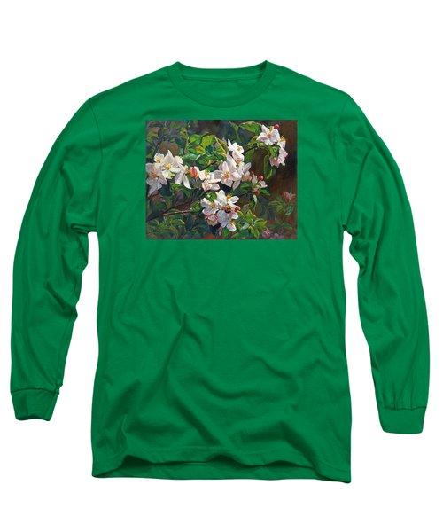 Blossom Of My Heart Long Sleeve T-Shirt by Svitozar Nenyuk