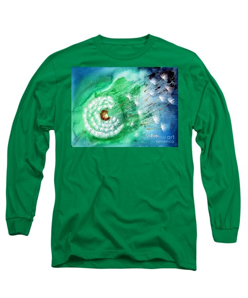 Blown Away Long Sleeve T-Shirt by Maria Barry