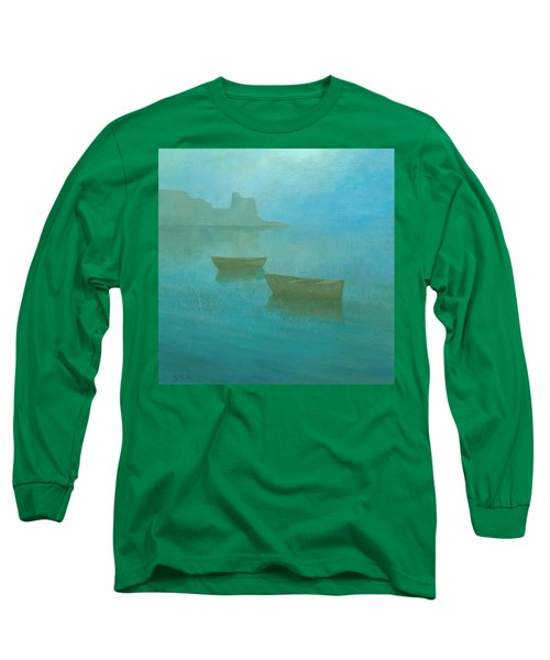 Blue Mist At Erbalunga Long Sleeve T-Shirt