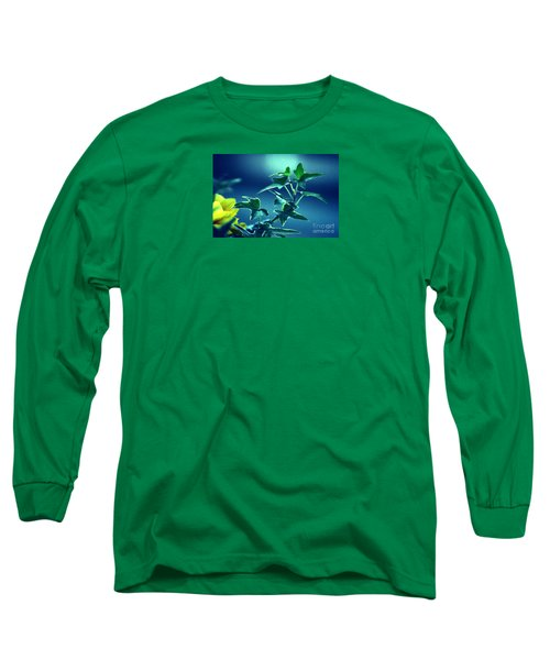 Long Sleeve T-Shirt featuring the photograph Blue Power  by Susanne Van Hulst