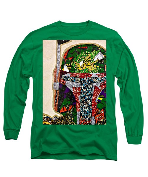 Boba Fett Star Wars Afrofuturist Collection Long Sleeve T-Shirt