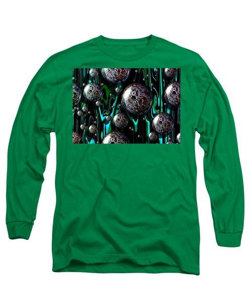 Bubble Abstract 1e Long Sleeve T-Shirt