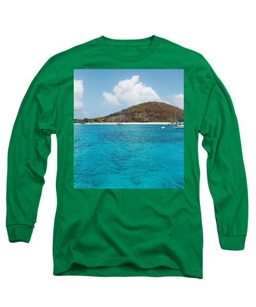 Buck Island Reef National Monument Long Sleeve T-Shirt