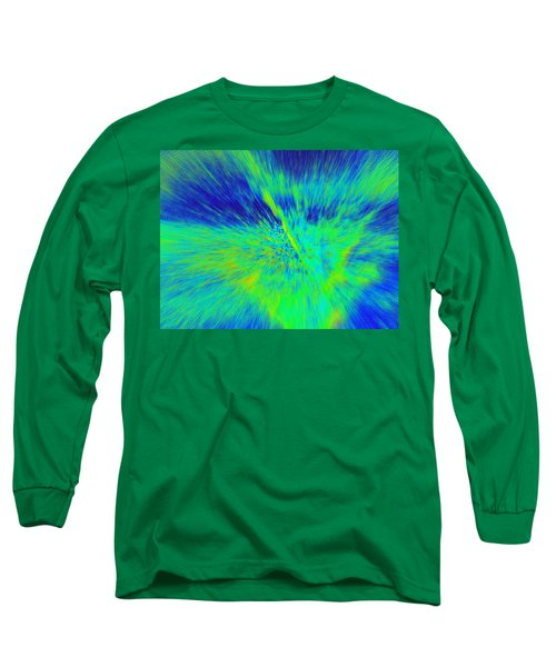 Bursting Long Sleeve T-Shirt by Betty-Anne McDonald