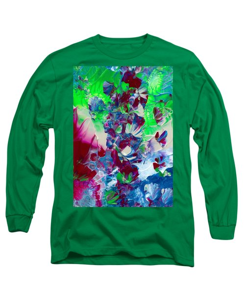 Butterflies, Fairies And Flowers Long Sleeve T-Shirt