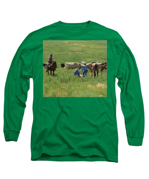 Calf Roping Long Sleeve T-Shirt
