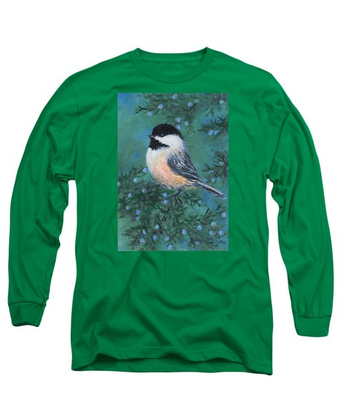 Cedar Chickadee 2 Long Sleeve T-Shirt